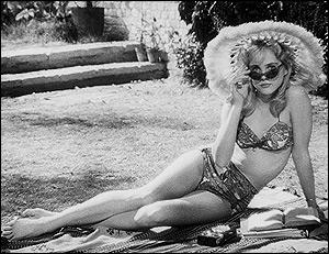 Sue Lyon, interpretando Lolita no filme de Stanley Kubrick